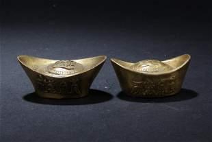 Two Chinese Ingots