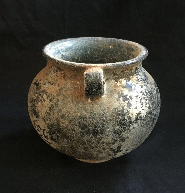 Antique Chinese Celadon Glazed Jar - 2