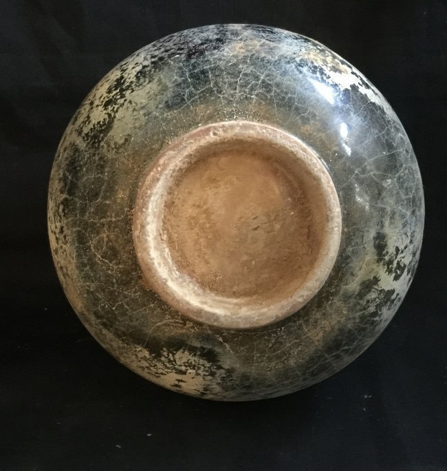 Antique Chinese Celadon Glazed Jar - 4