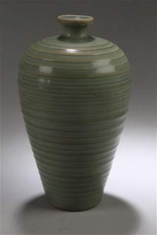 Chinese Enamel Meiping Vase