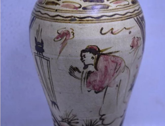 Antique Chinese Cizhouyao Meiping Vase - 2