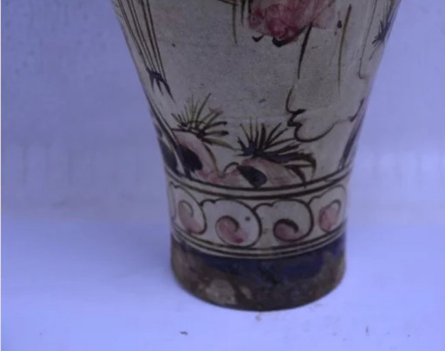 Antique Chinese Cizhouyao Meiping Vase - 3