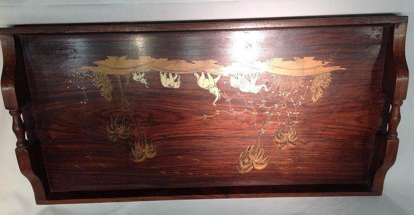 Hardwood Carved Tray