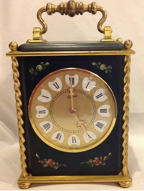 French Hand Painting Clock