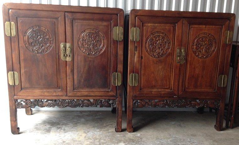 Qing Huanghuali Closet