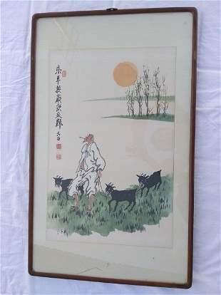 Korea Painting Yuan Mian