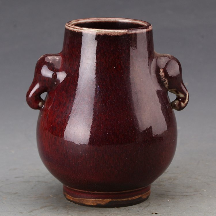 Chinese Chicken Blood Vase