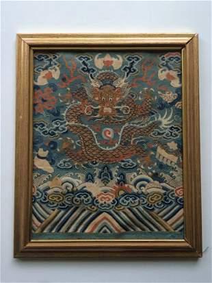 Qing Kesi Panel