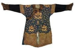 19th C Chinese Nine Dragon Robes