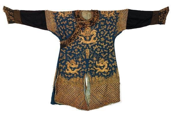 19th C Chinese Nine Dragon Robes