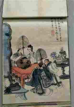 Antique Chinese Painting Book