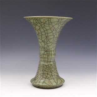 Antique Chinese Ge Yao Gu