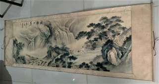 Chinese Painting Landscape Scroll