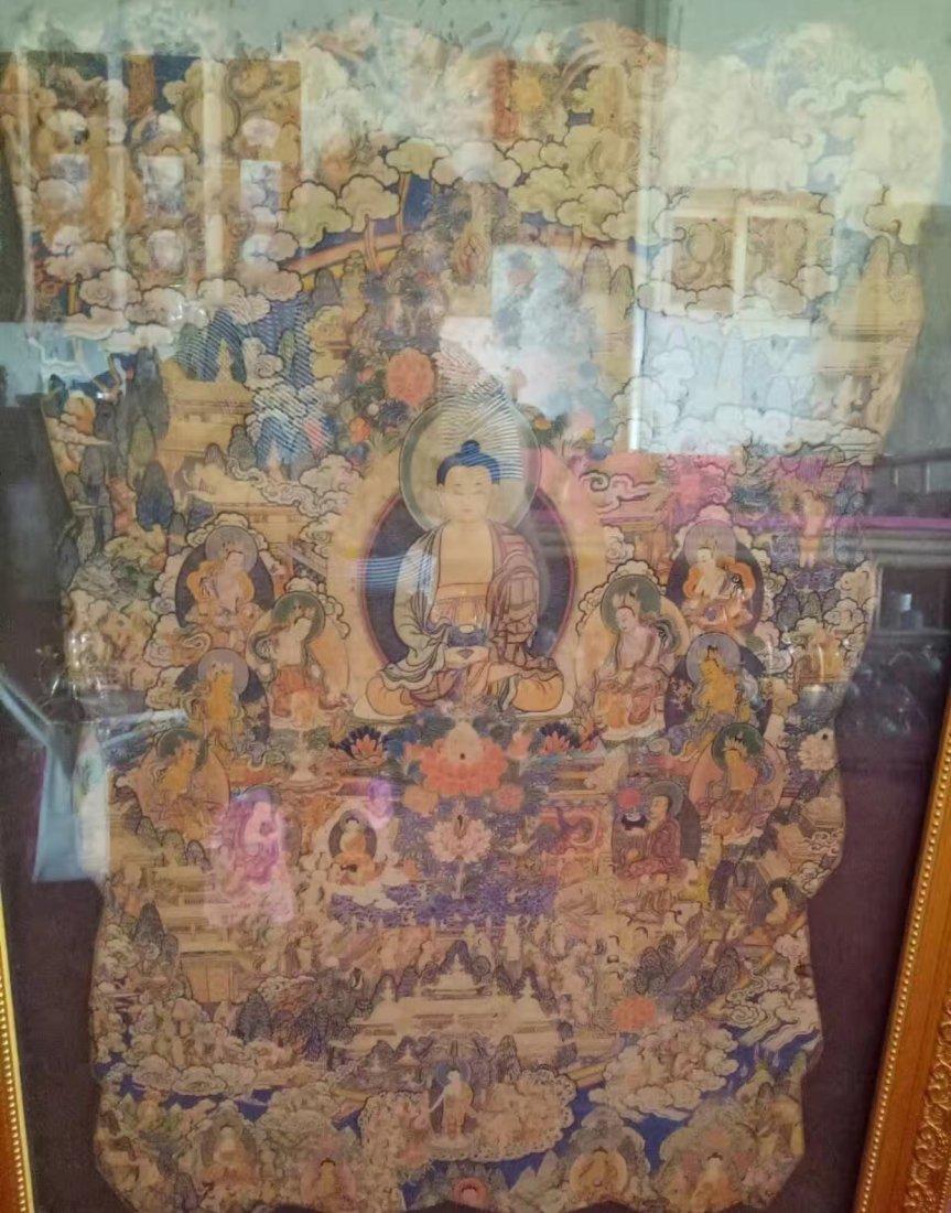 Chinese Tibet Tangka - 2