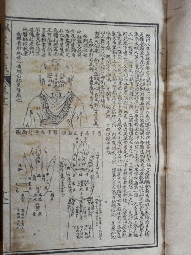Antique Chinese Woodblock Book - 2