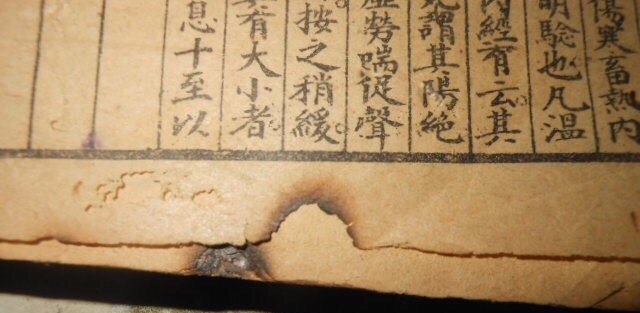 Antique Chinese Woodblock Book - 9