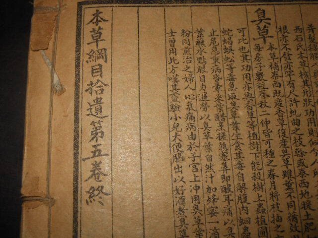 Antique Chinese Woodblock Book - 6
