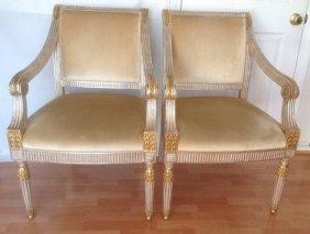 A Pair of Antique French Armchair