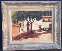 Siesta in Seville Oil on Canvas