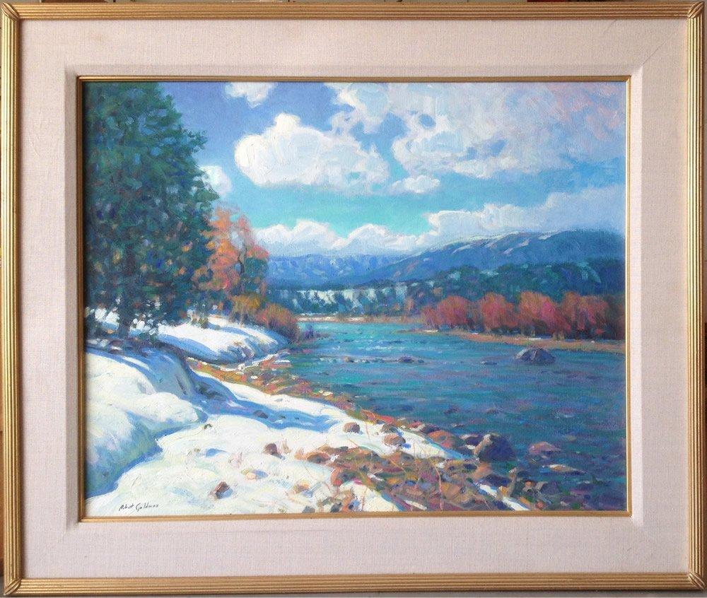 Robert Goldman Oil, Colorado river