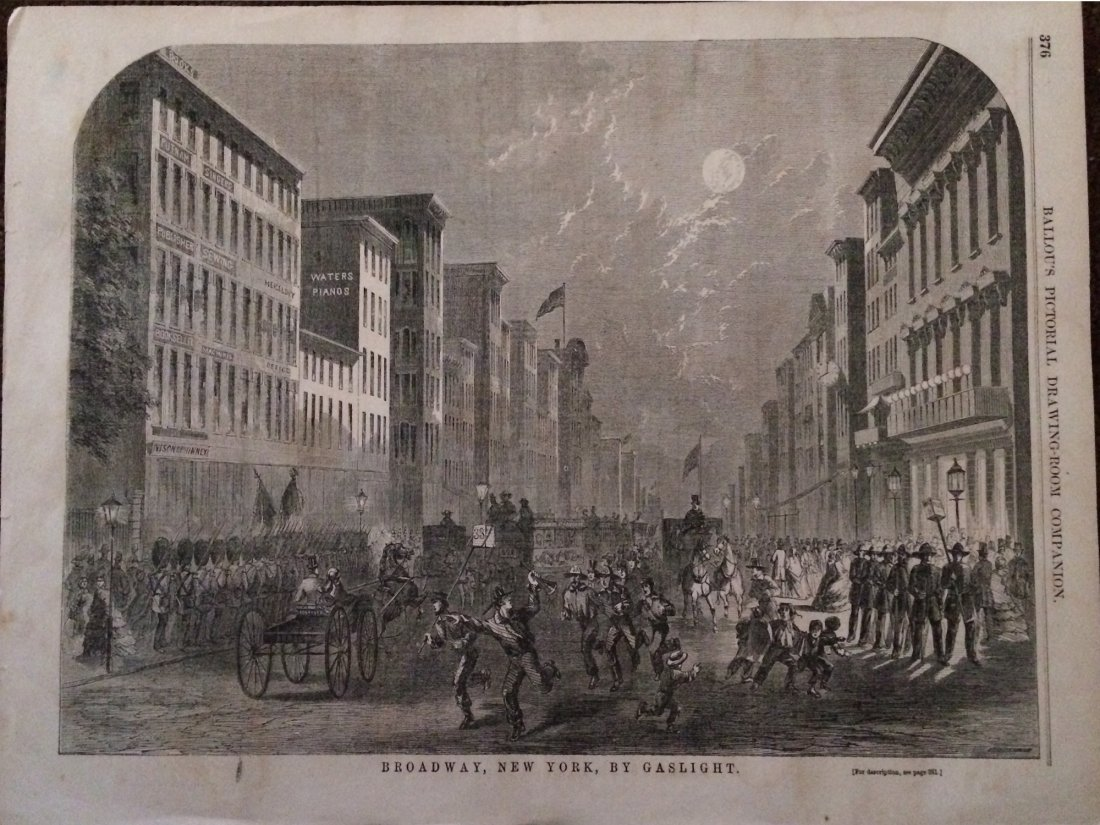Ballou's Pictorial: Broadway New York