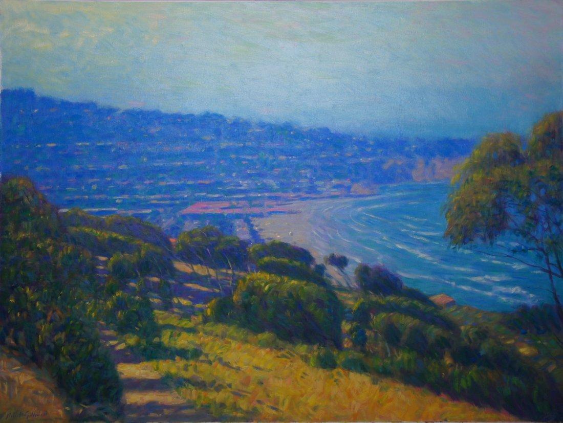 Robert Goldman, Above La Jolla Shore