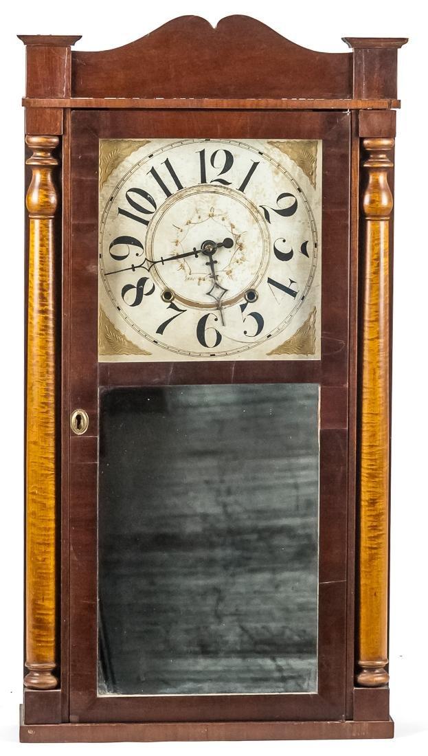 Charles Stratton, Worster, Mass. Half Column Clock