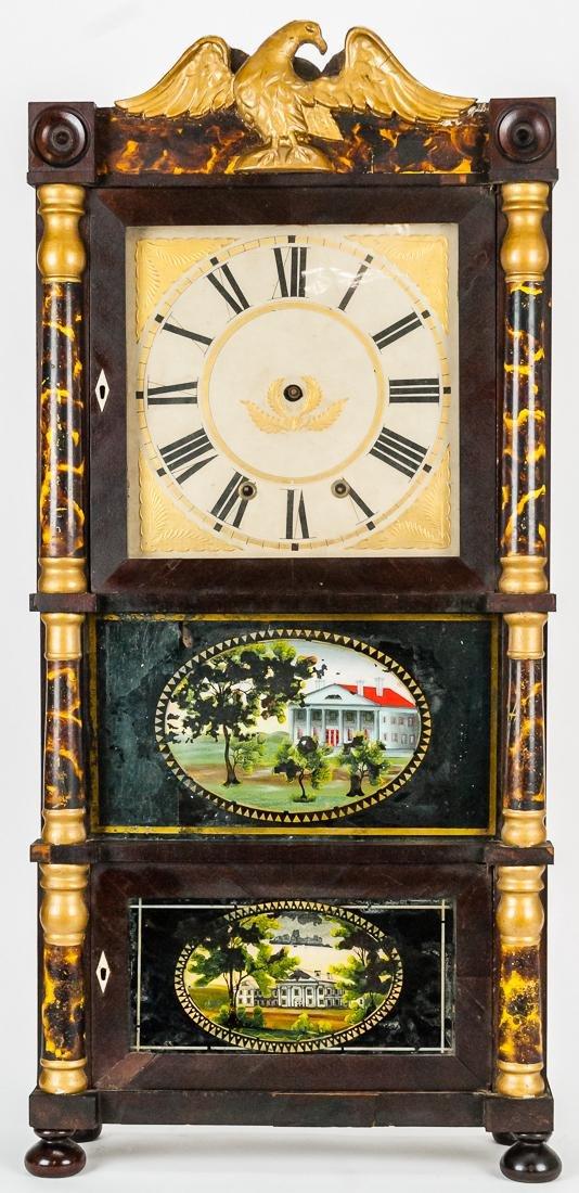 Fine American Triple Decker Shelf Clock