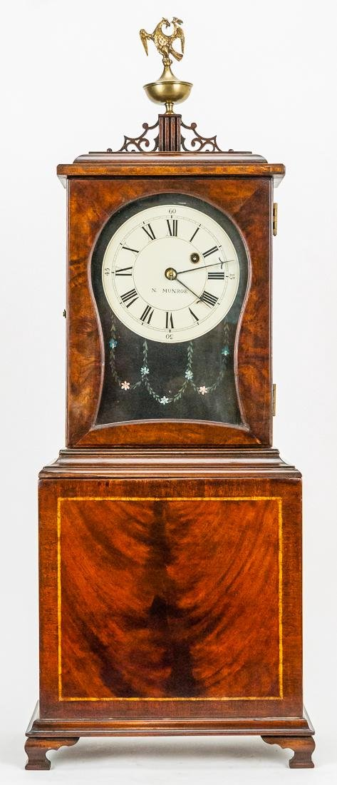N. Munroe Shelf Clock
