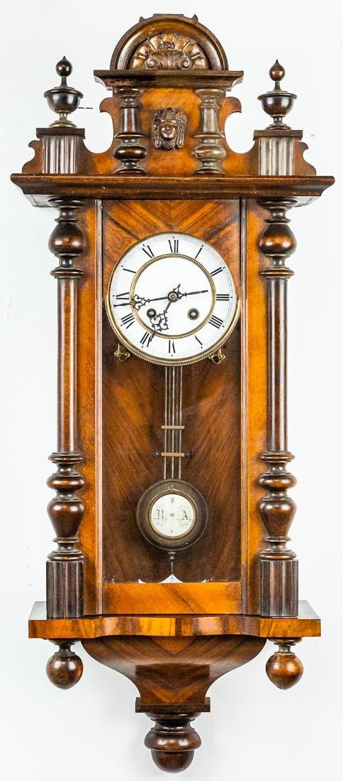 German Wall Regulator Clock