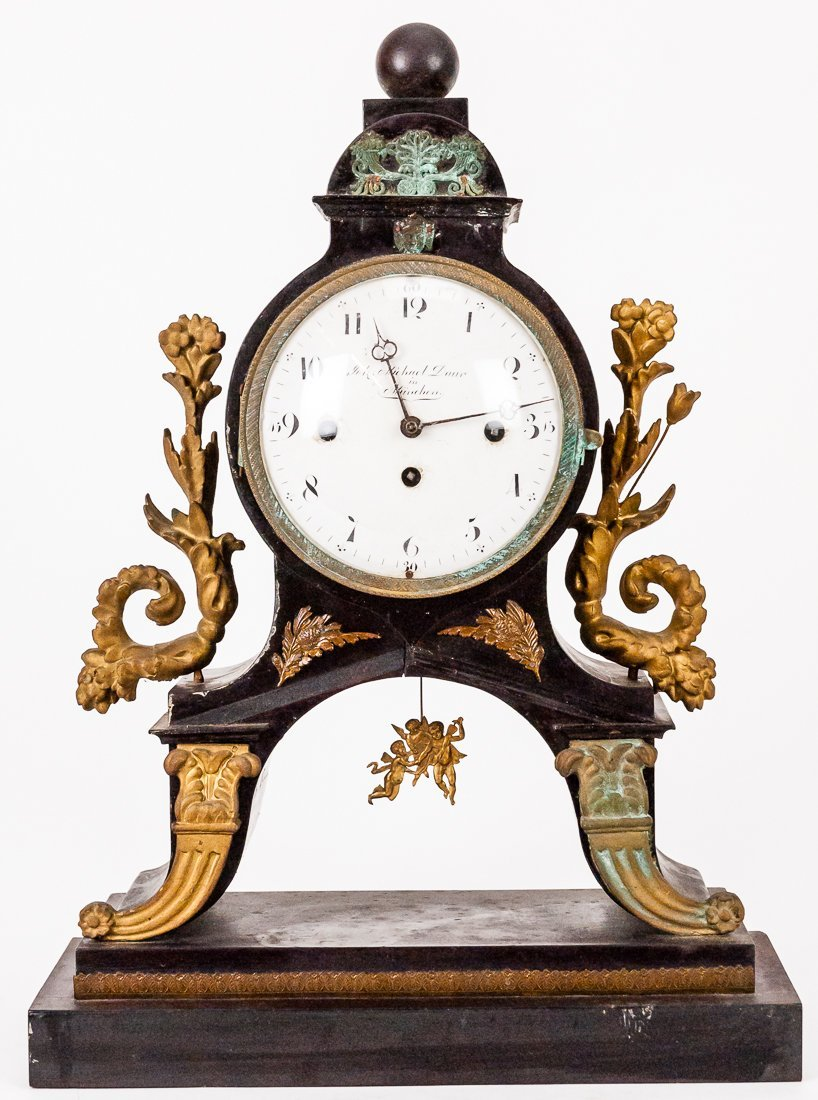 German Portico Clock