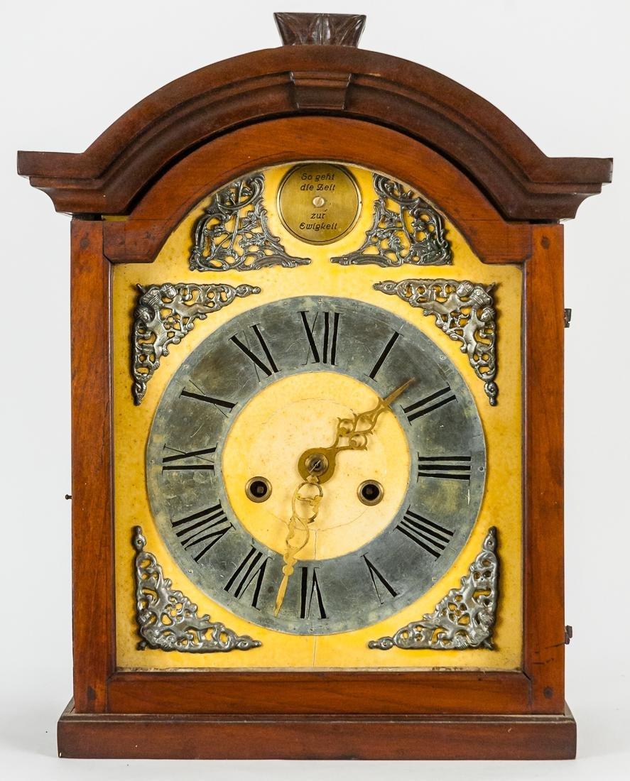 German Hanging Bracket Clock