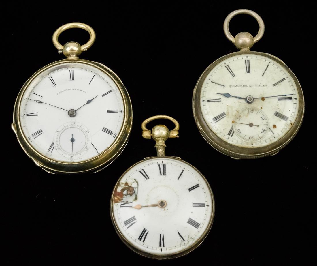 Waltham 18 Size Pocketwatch Plus