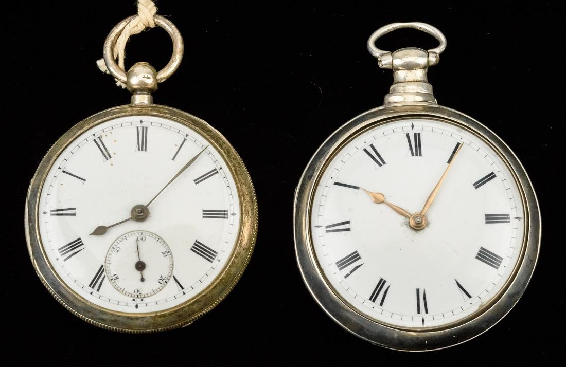 Two Fusee Pocket Watches