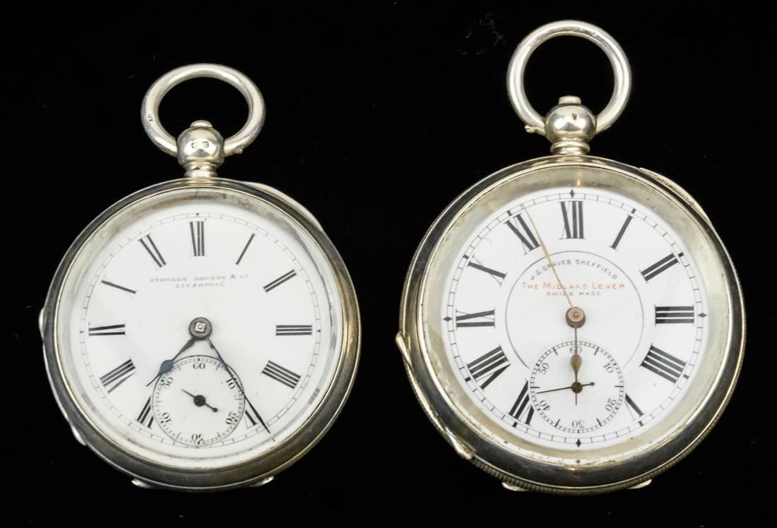 J. G. Graves Sheffield Midland Lever Pocketwatch Plus