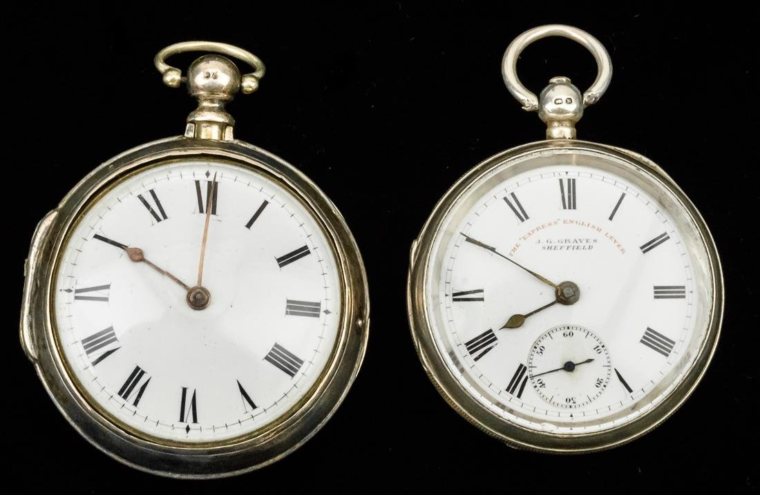 E. Moore of London Fusee Pocketwatch Plus
