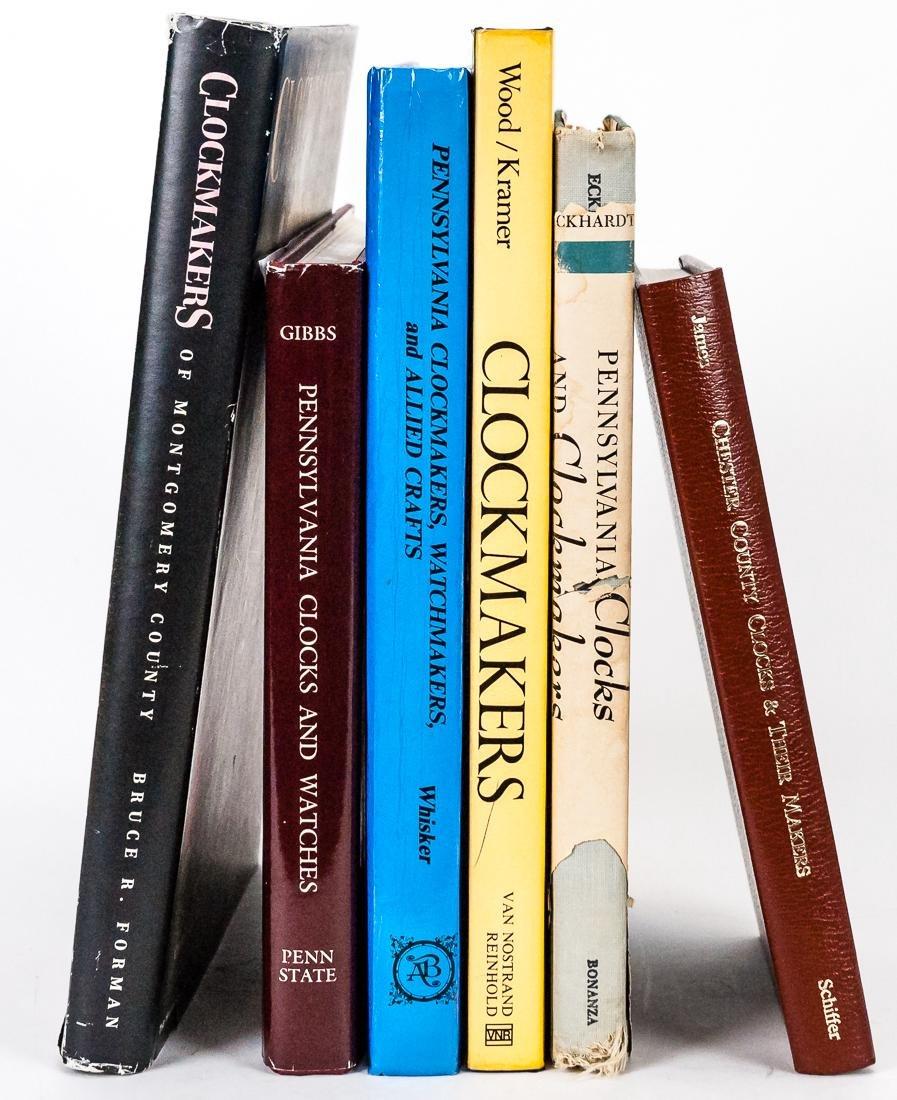 Six Books on Clocks & Watches