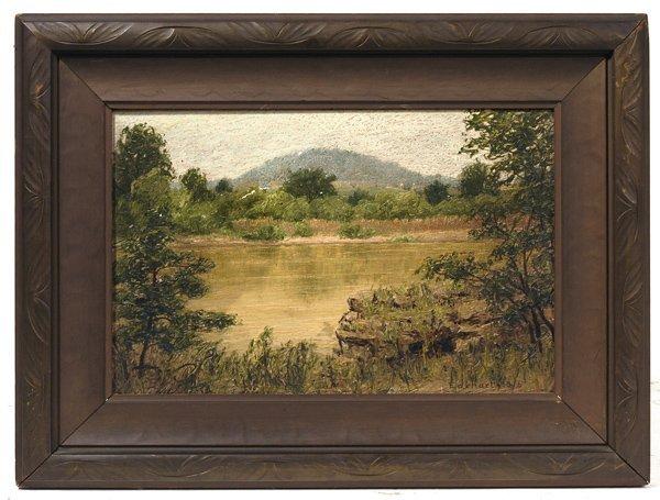 104: JOHN FRANKLIN EARHART (CINCINNATI, OH) OIL PAINTIN