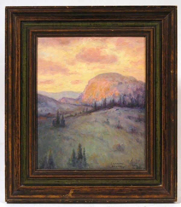 120: CHARLES C. SVENDSEN (CINCINNATI, OH) OIL PAINTING