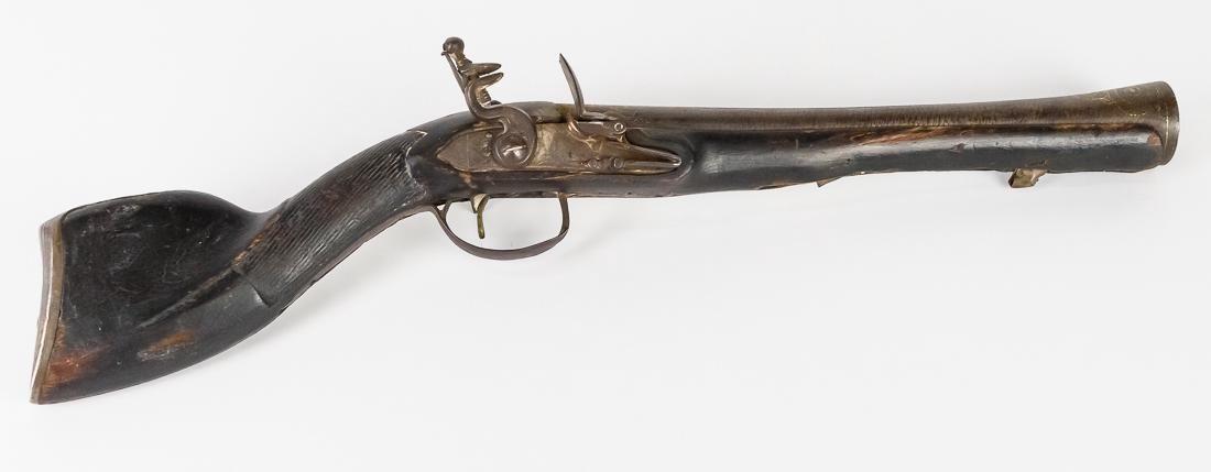 18th Century Naval Blunderbuss Pistol