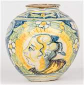 16th Century Majolica Jar