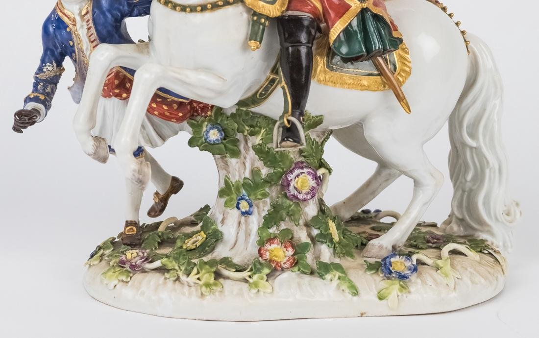 Meissen Equestrian Figure of Frederick The Great - 4