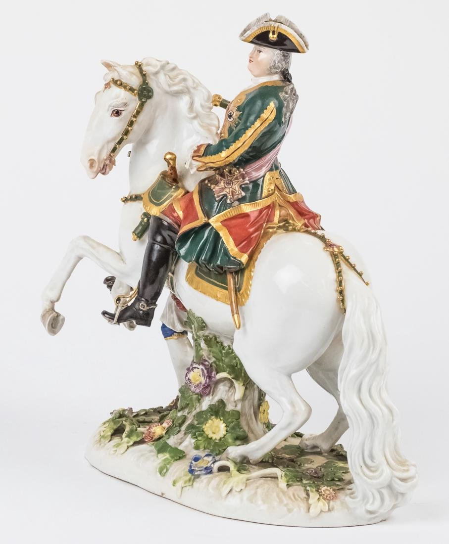 Meissen Equestrian Figure of Frederick The Great - 7