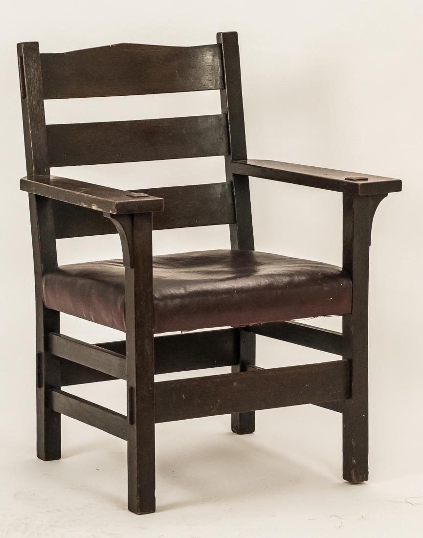 Gustav Stickley Arm Chair #2631