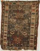 Antique Caucasian Oriental Tribal Rug