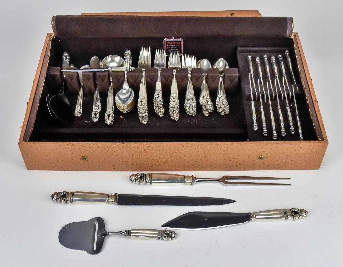 Set of Georg Jenson Sterling Flatware