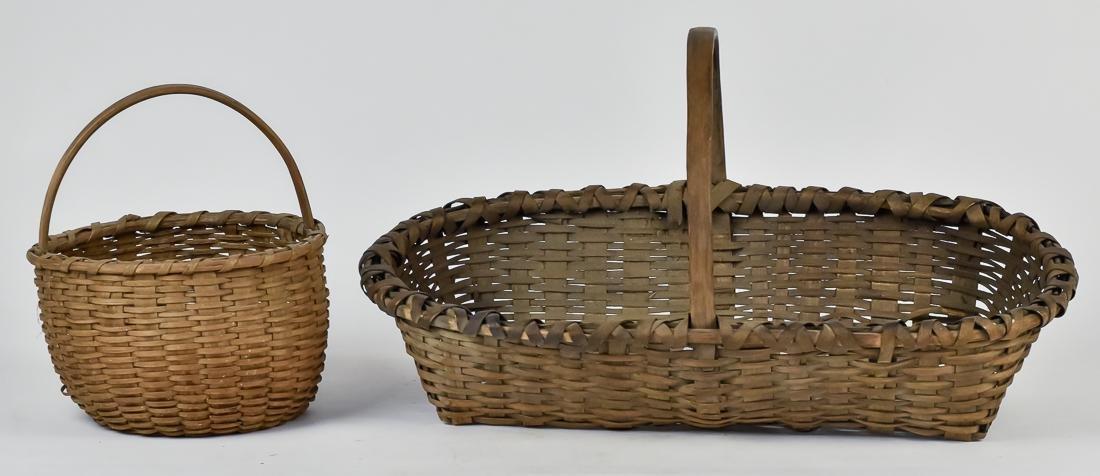 Two Taconic Bushwacker Baskets