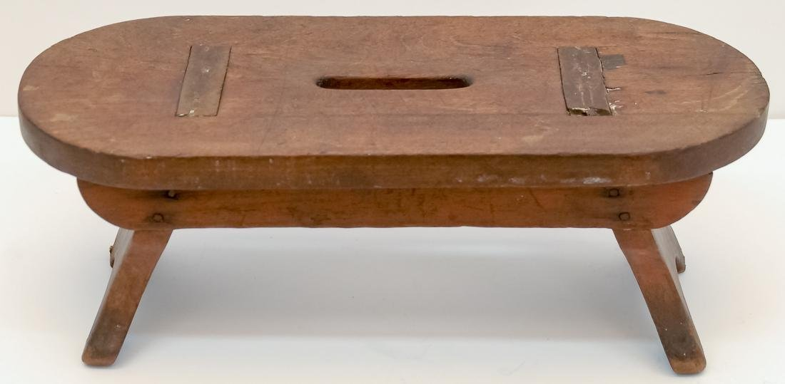 Early Oval Footstool