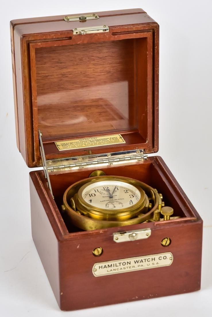 Hamilton Ships Chronometer