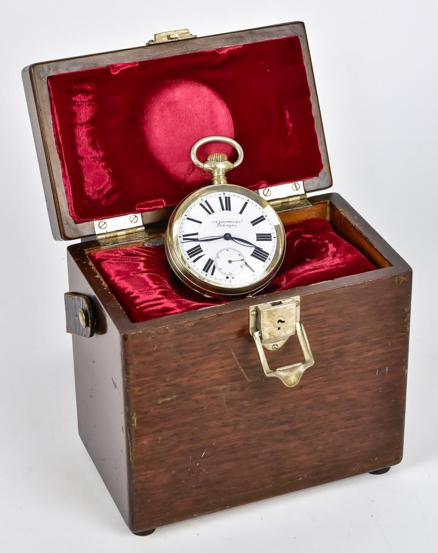 J.E. Caldwell & Co. Chronometer Clock
